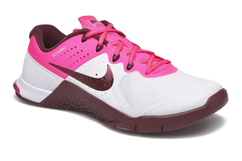 Baskets Nike Wmns Nike Metcon 2 Blanc vue détail/paire