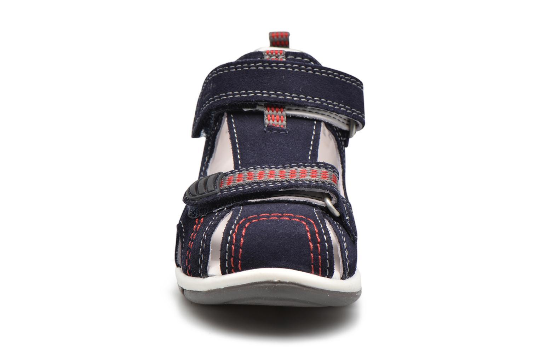 Sandales et nu-pieds Superfit Freddy Bleu vue portées chaussures