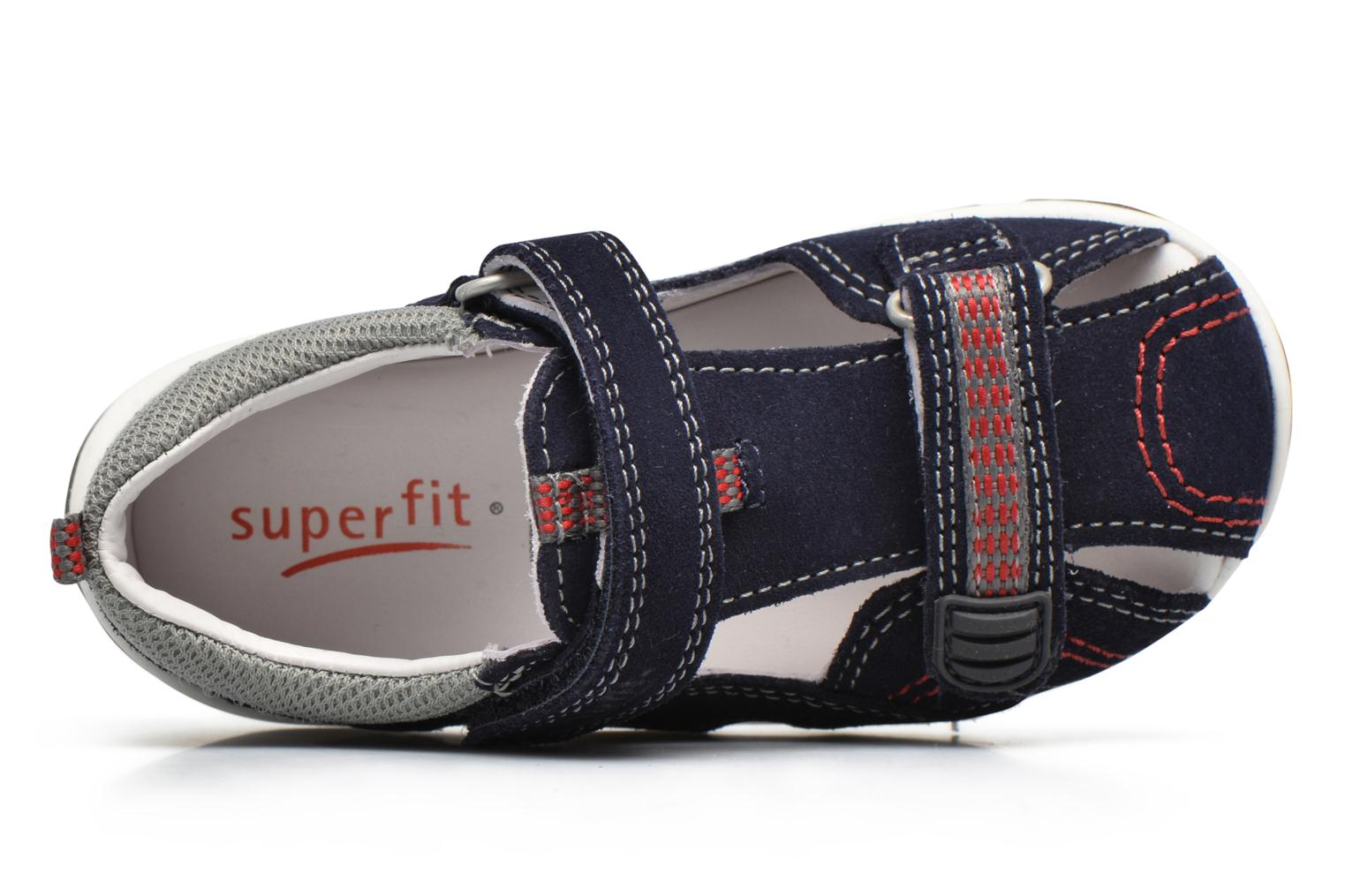 Sandals Superfit Freddy Blue view from the left