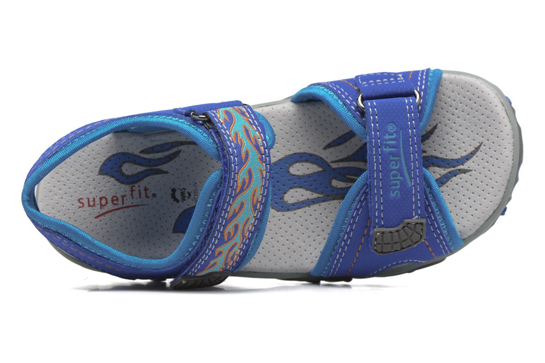 Sandales et nu-pieds Superfit Mike Bleu vue gauche