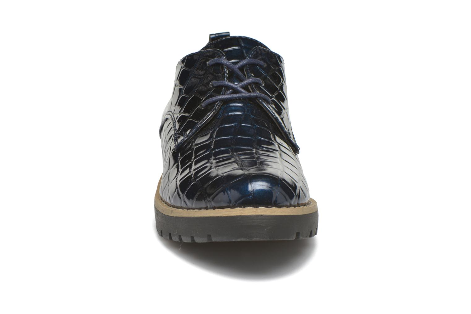 Zapatos con cordones I Love Shoes Thada Azul vista del modelo