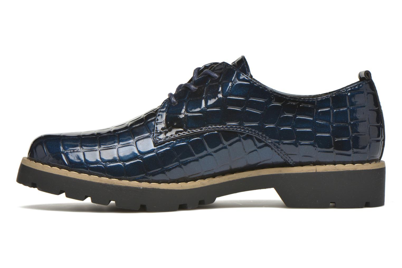 Schnürschuhe I Love Shoes Thada blau ansicht von vorne