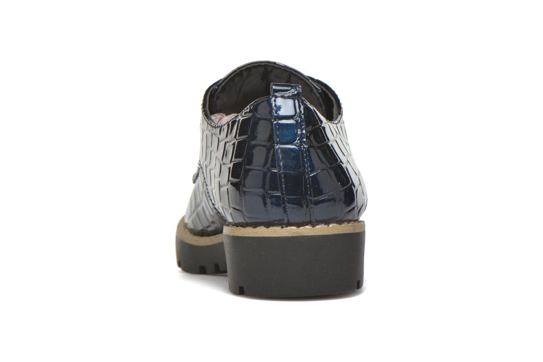 Schnürschuhe I Love Shoes Thada blau ansicht von rechts