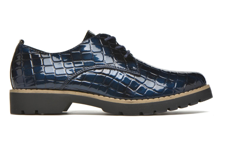 Schnürschuhe I Love Shoes Thada blau ansicht von hinten