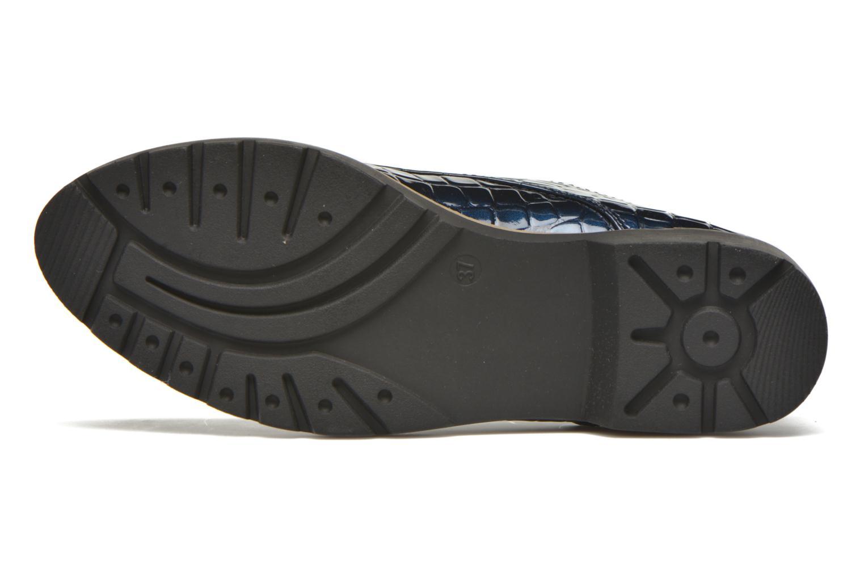 Schnürschuhe I Love Shoes Thada blau ansicht von oben
