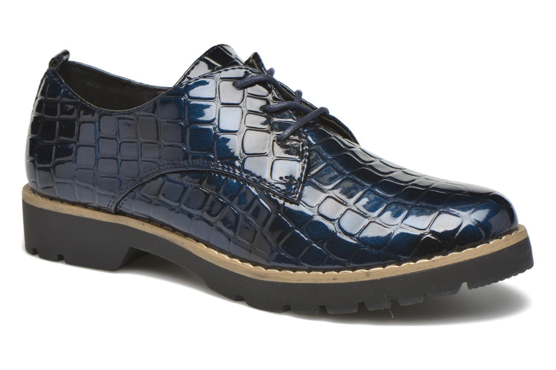 Schnürschuhe I Love Shoes Thada blau detaillierte ansicht/modell
