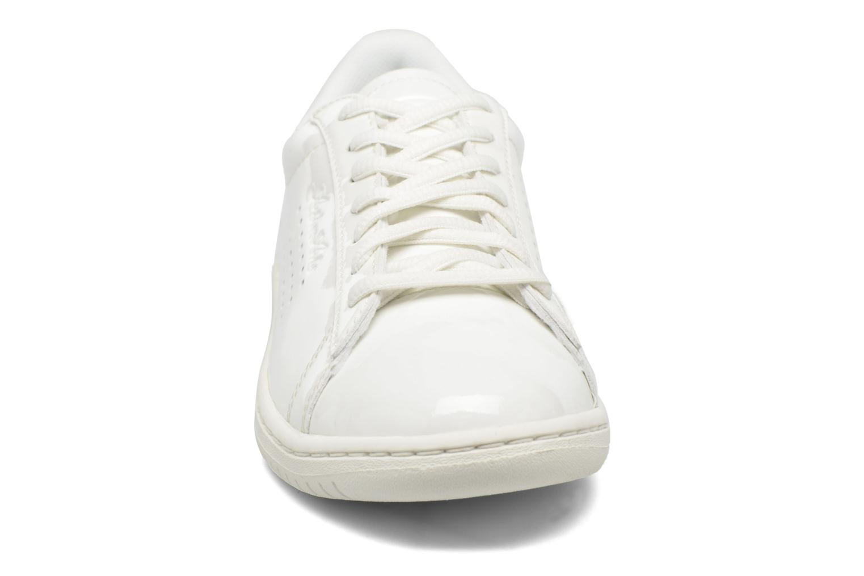 Sneakers Le Coq Sportif Arthur Ashe W Patent Bianco modello indossato