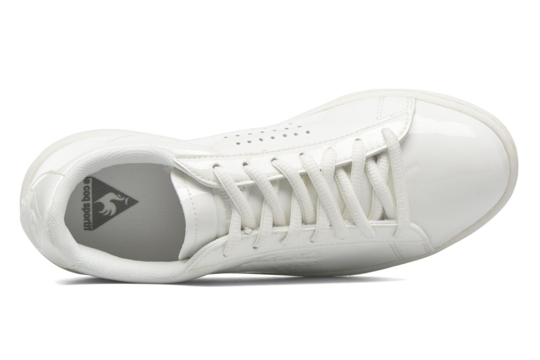 Sneakers Le Coq Sportif Arthur Ashe W Patent Bianco immagine sinistra
