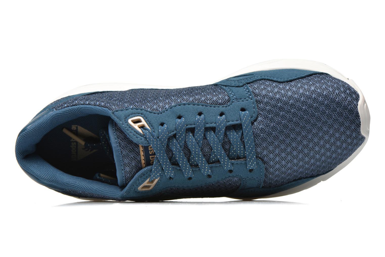 Sneakers Le Coq Sportif Lcs R900 W Mesh Azzurro immagine sinistra
