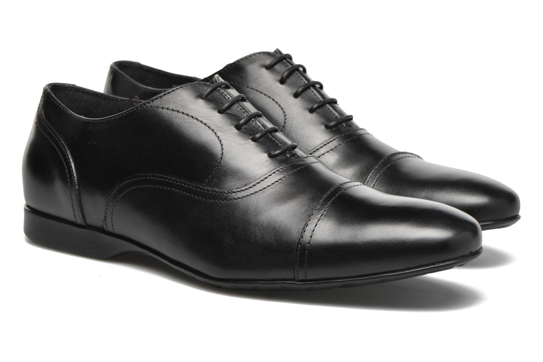 Zapatos con cordones Mr SARENZA Nathan Negro vistra trasera