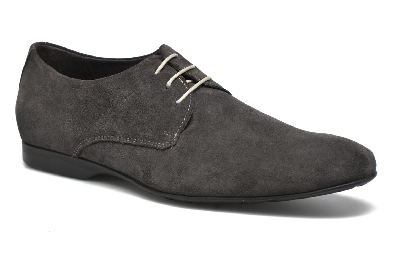 Zapatos con cordones Mr SARENZA Nathy Gris vista lateral derecha