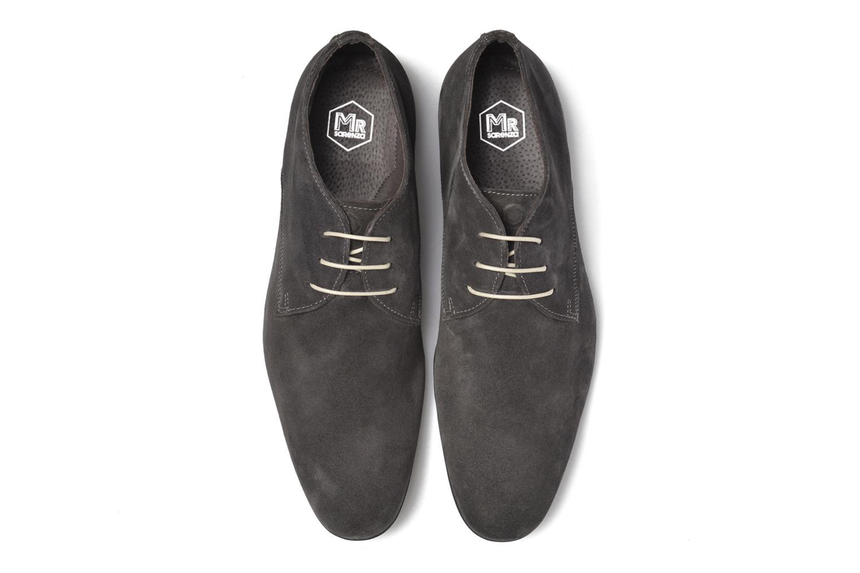 Zapatos con cordones Mr SARENZA Nathanael Gris vista del modelo