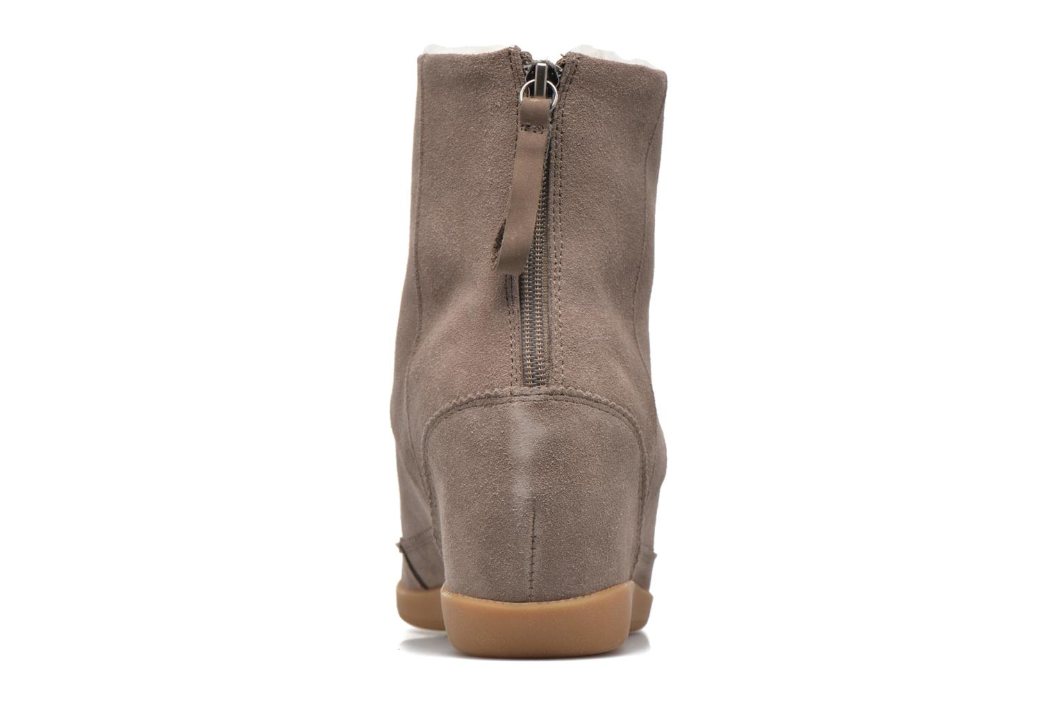 Ankle boots Shoe the bear Emmy Fur Beige view from the right