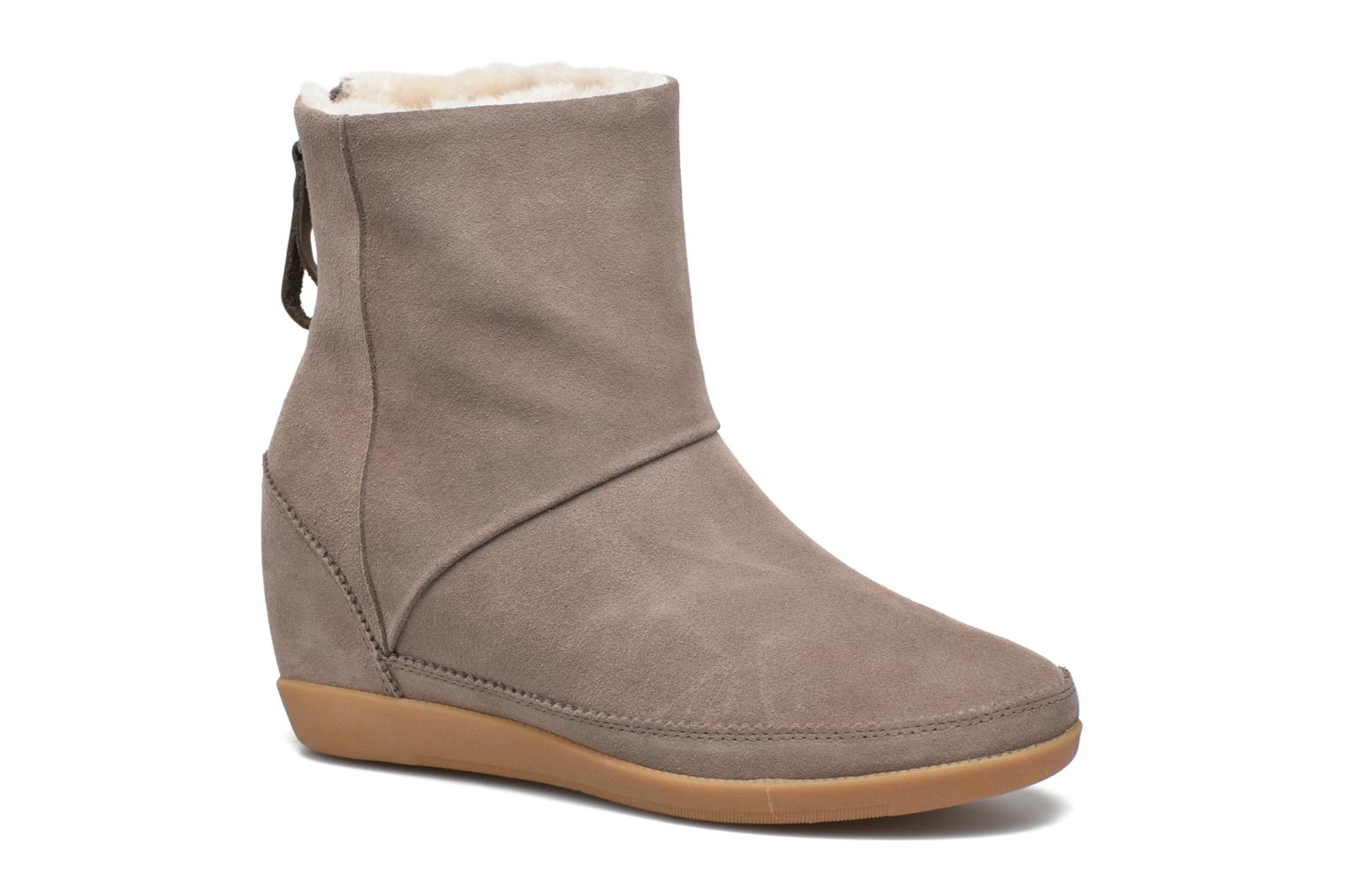 Bottines et boots Shoe the bear Emmy Fur Beige vue détail/paire