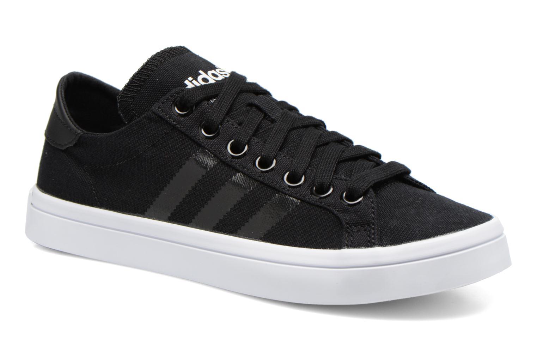 adidas court vantage zwart