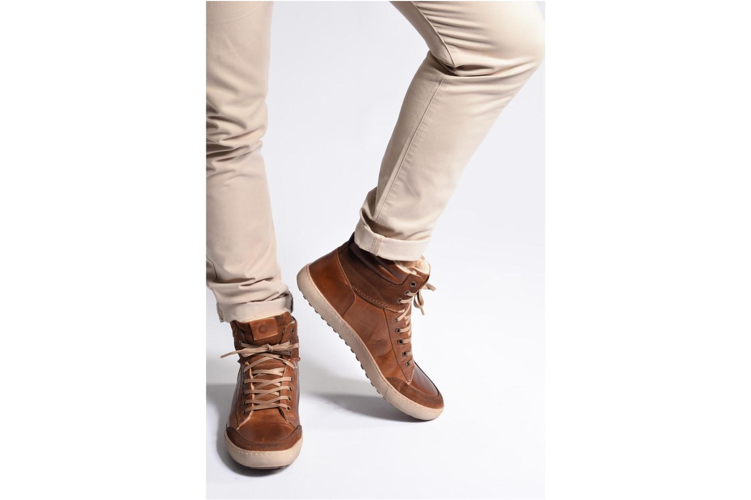 Tan Tan Walmoute SARENZA Leather Mr Suede 60OwXS