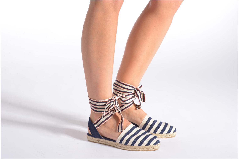Sandales et nu-pieds Georgia Rose Dalore Multicolore vue bas / vue portée sac