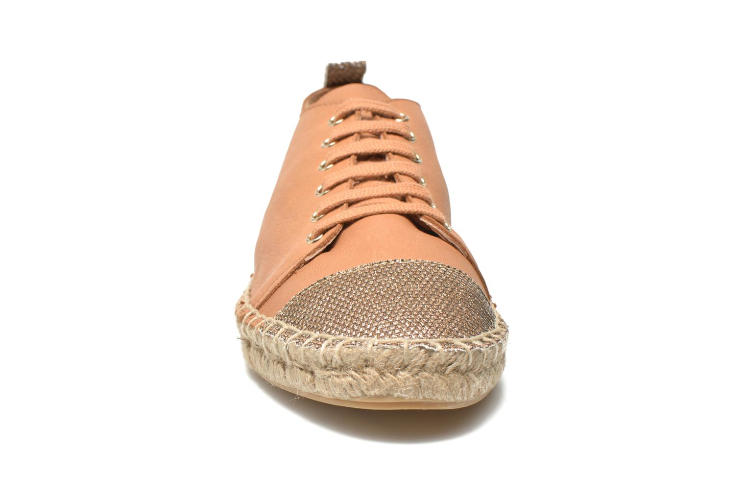 Espadrilles Georgia Rose Dakitte Bronze and Gold model view