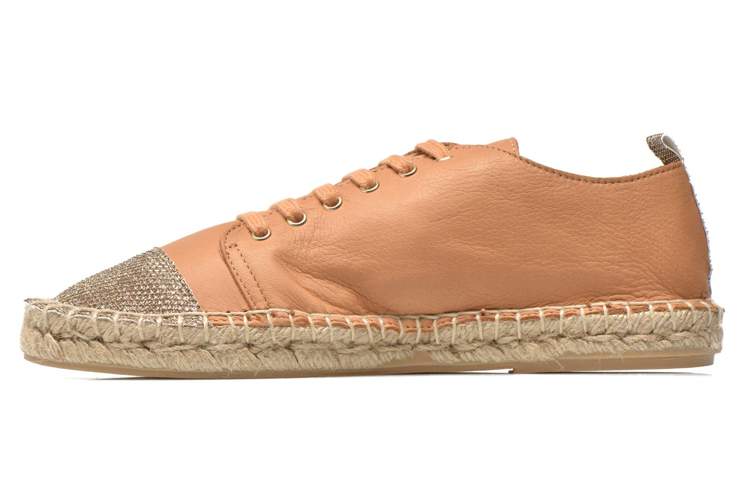 Espadrilles Georgia Rose Dakitte Bronze and Gold front view
