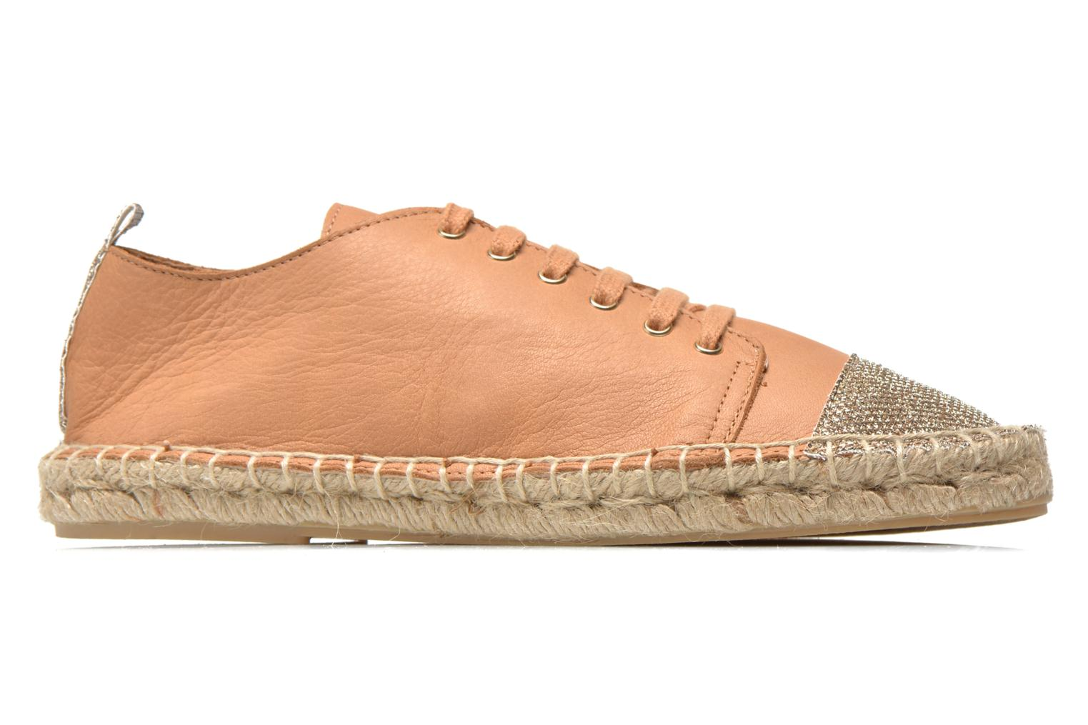 Espadrilles Georgia Rose Dakitte Bronze and Gold back view