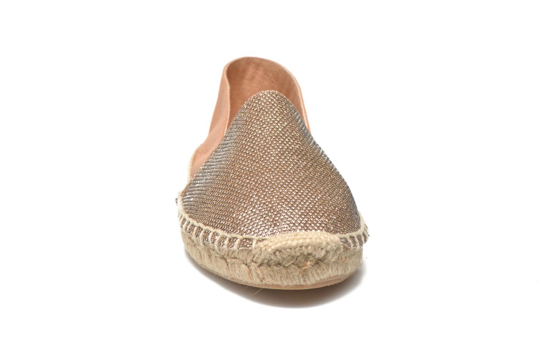 Espadrilles Georgia Rose Dapacho Or et bronze vue portées chaussures