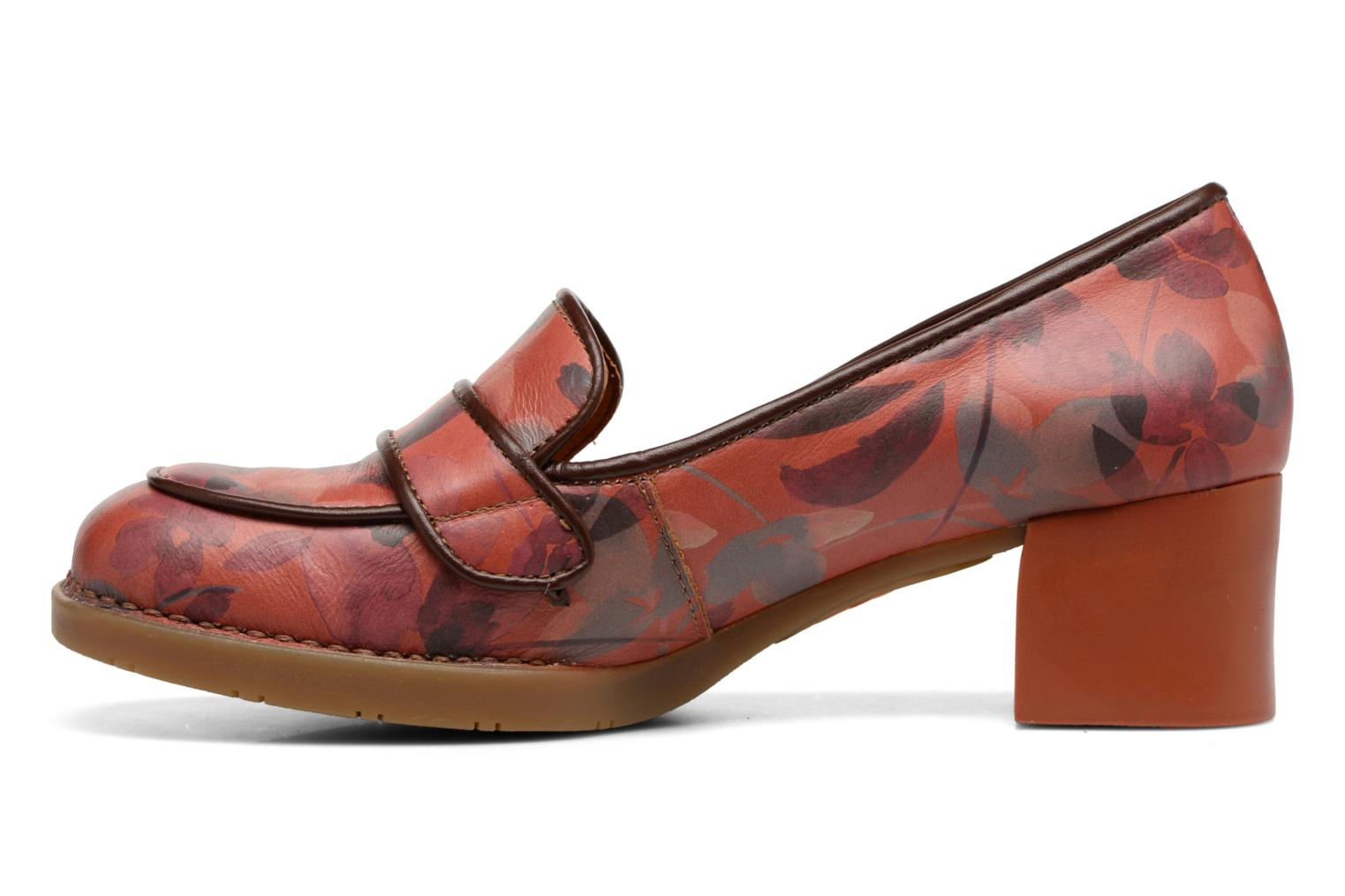 Mocassins Art Bristol 79 Rouge vue face