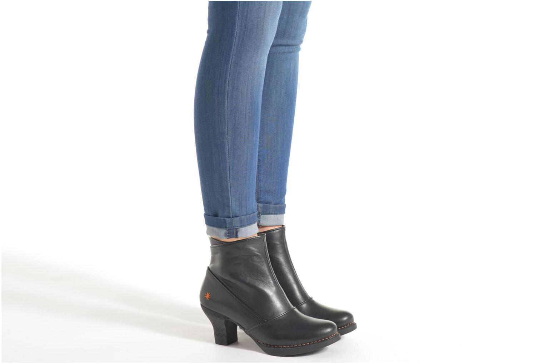 Stiefeletten & Boots Art Harlem 945 schwarz ansicht von unten / tasche getragen