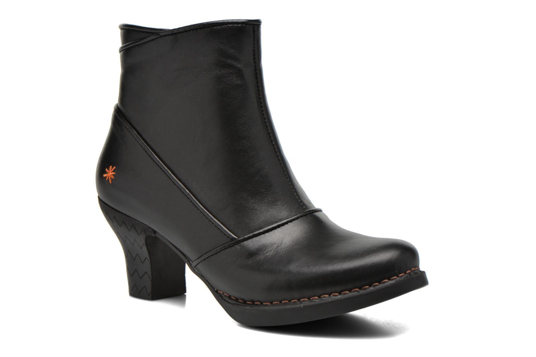 Boots en enkellaarsjes Art Harlem 945 Zwart detail
