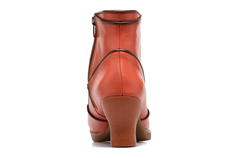 Bottines et boots Art Harlem 945 Orange vue droite