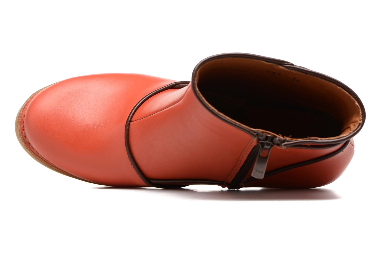 Bottines et boots Art Harlem 945 Orange vue gauche