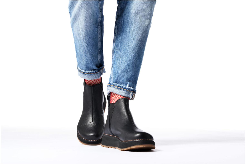 Bottines et boots Art Heathrow 1023 Marron vue bas / vue portée sac