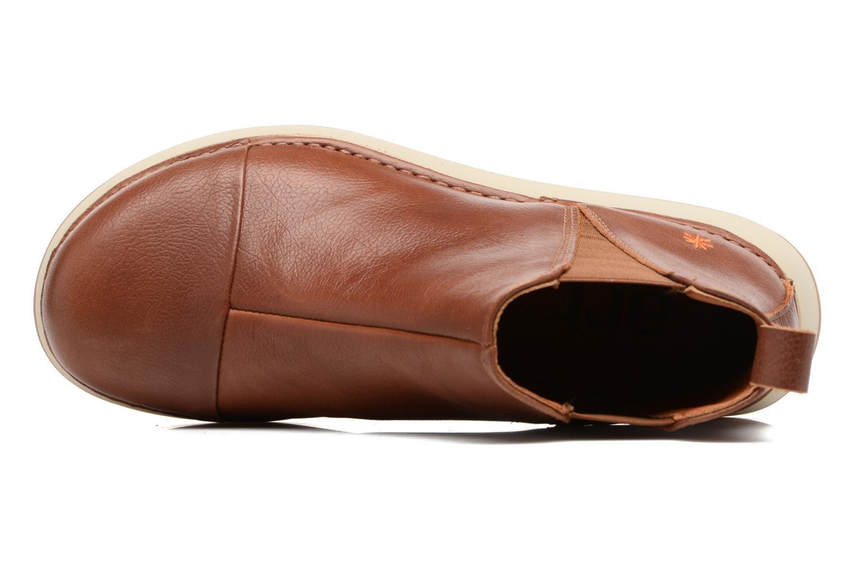 Boots en enkellaarsjes Art Heathrow 1023 Bruin links