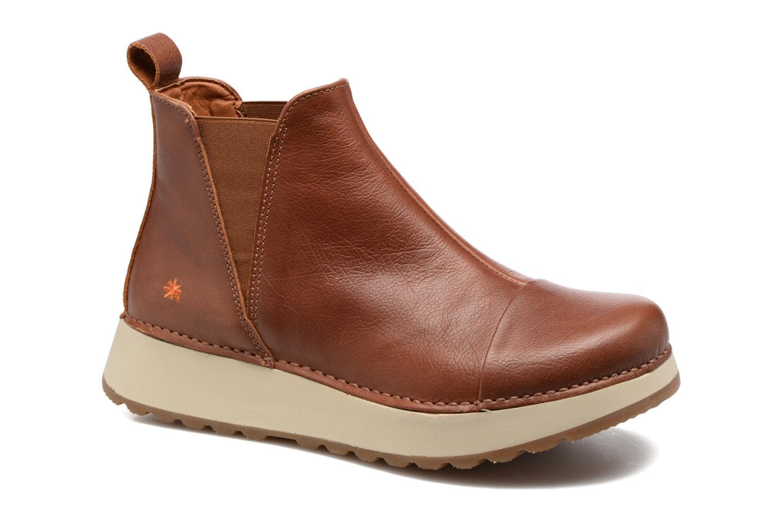 Boots en enkellaarsjes Art Heathrow 1023 Bruin detail