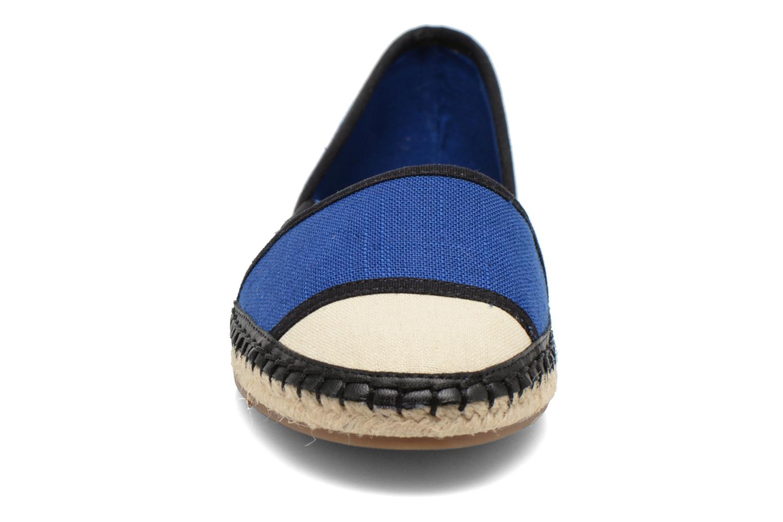 Espadrilles Aldo Shulkin Bleu vue portées chaussures