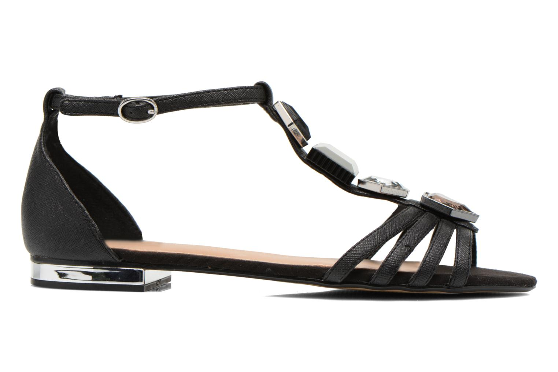 Sandales et nu-pieds Aldo Lilia Noir vue derrière