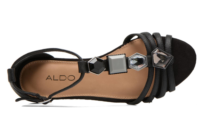 Sandales et nu-pieds Aldo Lilia Noir vue gauche