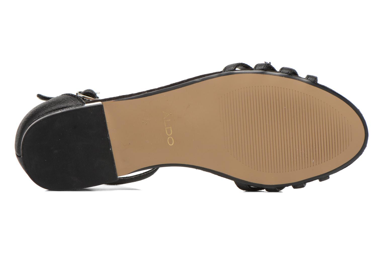 Sandales et nu-pieds Aldo Lilia Noir vue haut
