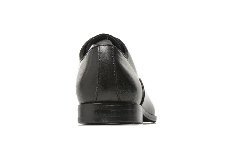 Chaussures à lacets Aldo Tranter Noir vue droite