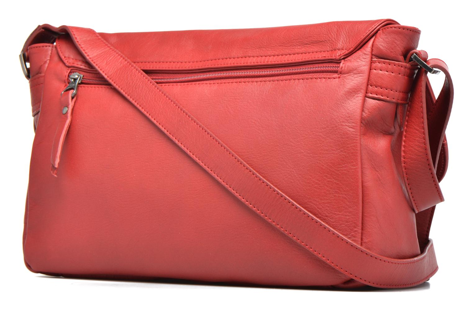Handbags Sabrina Victoria Red view from the right