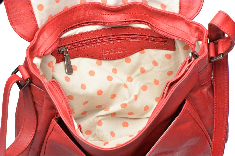 Borse Sabrina Victoria Rosso immagine posteriore