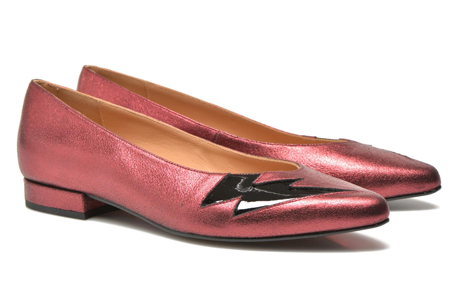 Ballet pumps Made by SARENZA Ziggy Baby #1 Purple view from the right