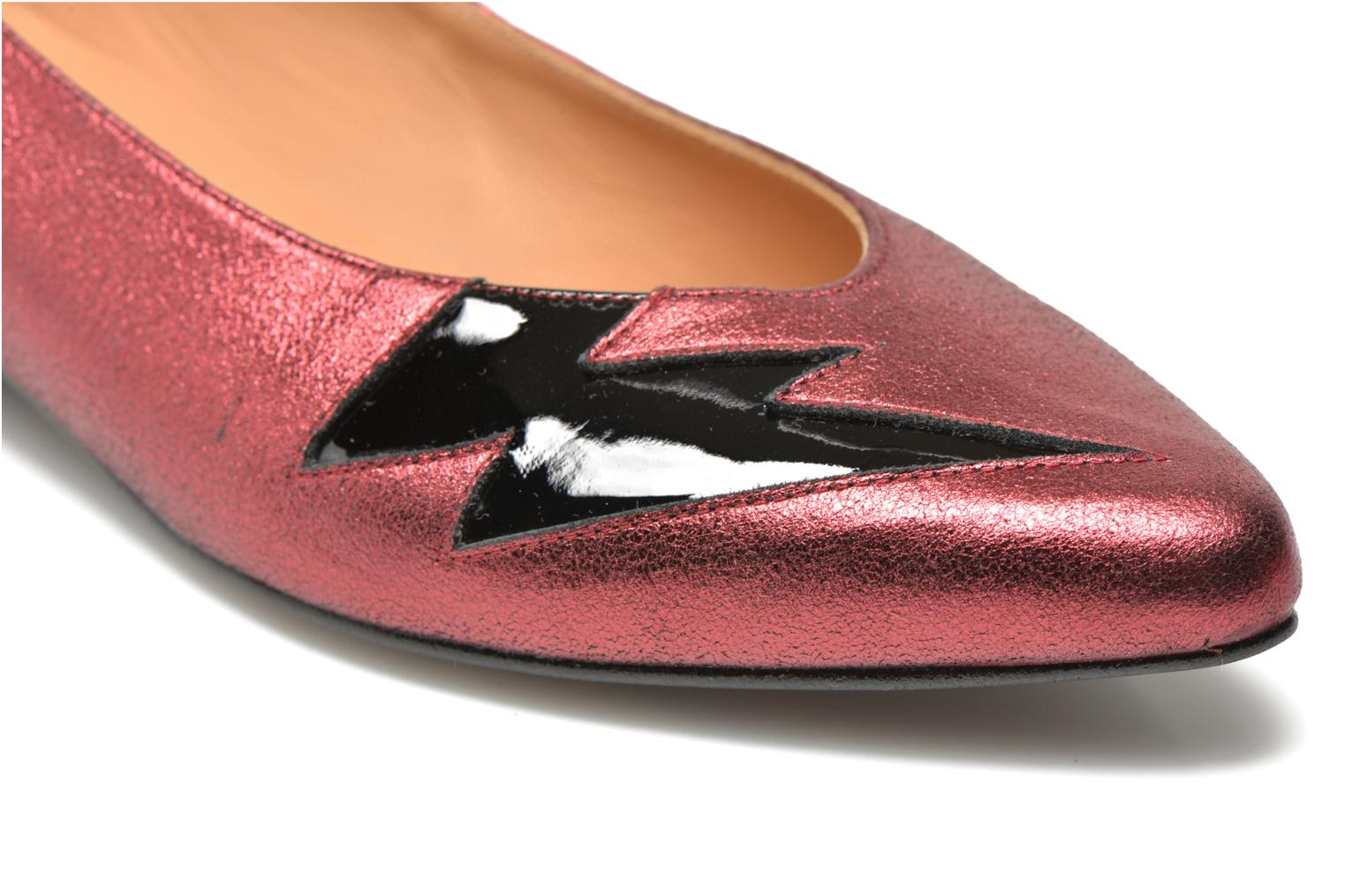 Ballet pumps Made by SARENZA Ziggy Baby #1 Purple back view