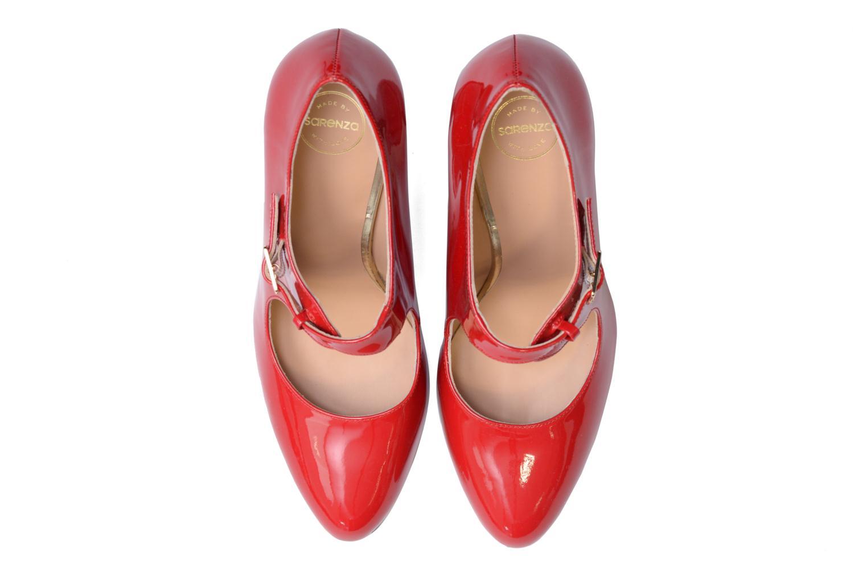 Décolleté Made by SARENZA Shoe Officer #3 Rosso modello indossato