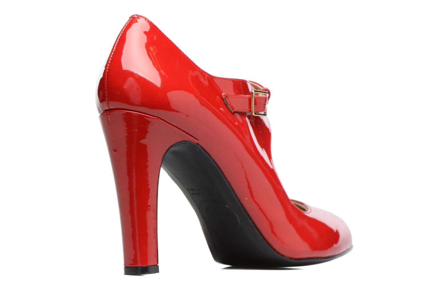 High heels Made by SARENZA Shoe Officer #3 Red front view
