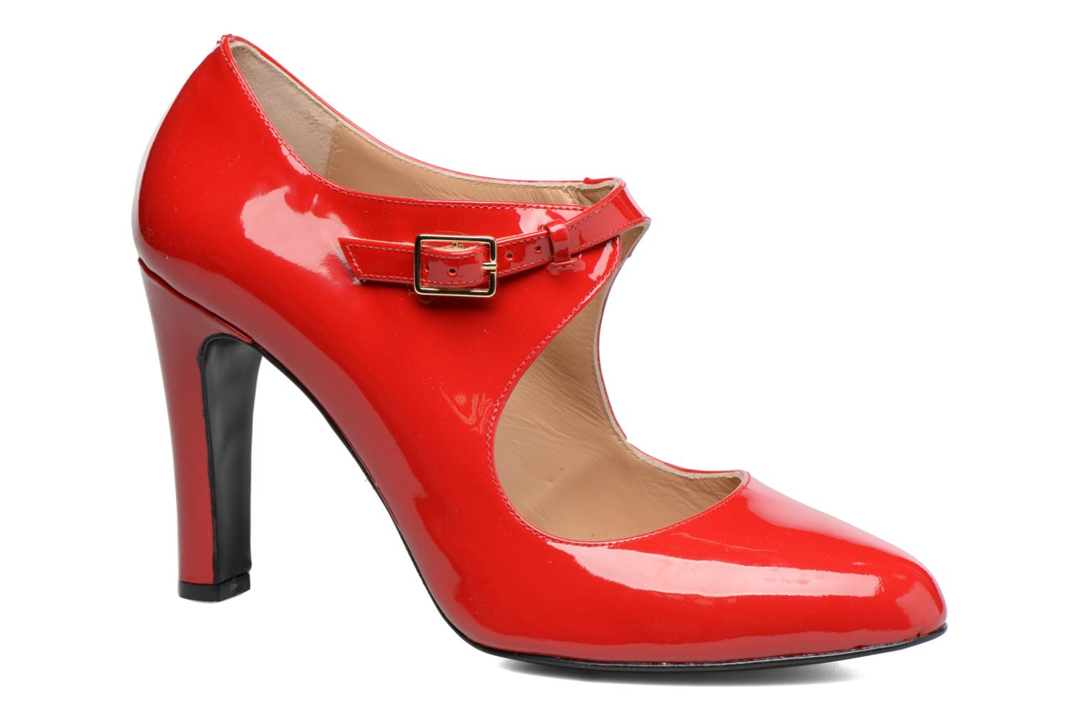 High heels Made by SARENZA Shoe Officer #3 Red view from the right