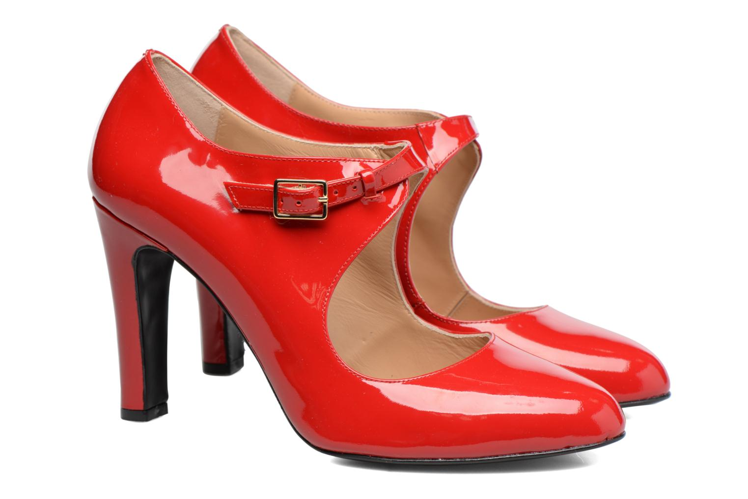 High heels Made by SARENZA Shoe Officer #3 Red back view