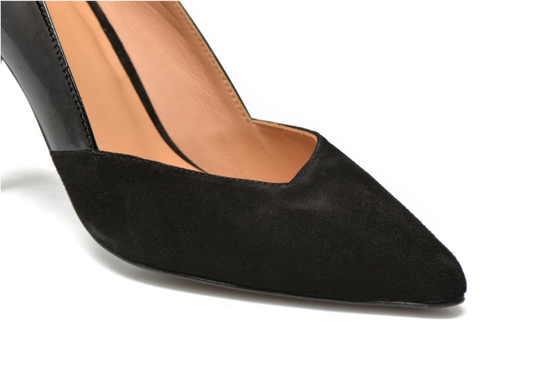 Glossy Cindy #11 Ante noir + vernis noir