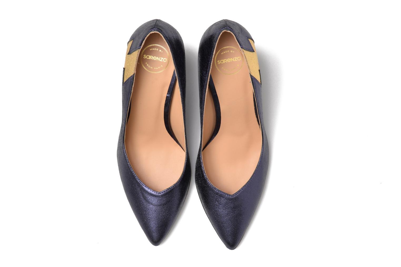 Escarpins Made by SARENZA Glossy Cindy #3 Bleu vue portées chaussures