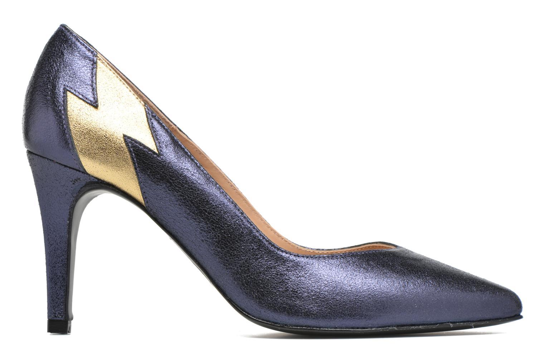 Escarpins Made by SARENZA Glossy Cindy #3 Bleu vue détail/paire