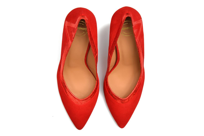 Glossy Cindy #6 Ante rojo + polvore red